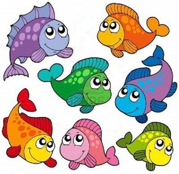 Les poissons pour l 39 aquarium - Poisson dessin couleur ...