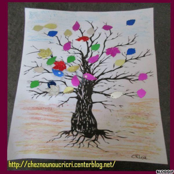 Coloriage l 39 arbre d 39 automne coloriage arbre d 39 automne - Arbre d automne a colorier ...
