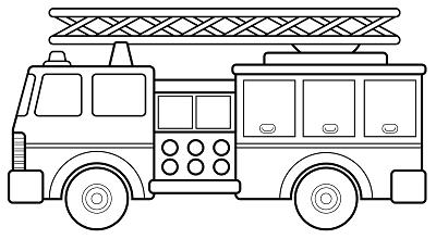 Cahier de vie de sacha - Dessin pompier facile ...