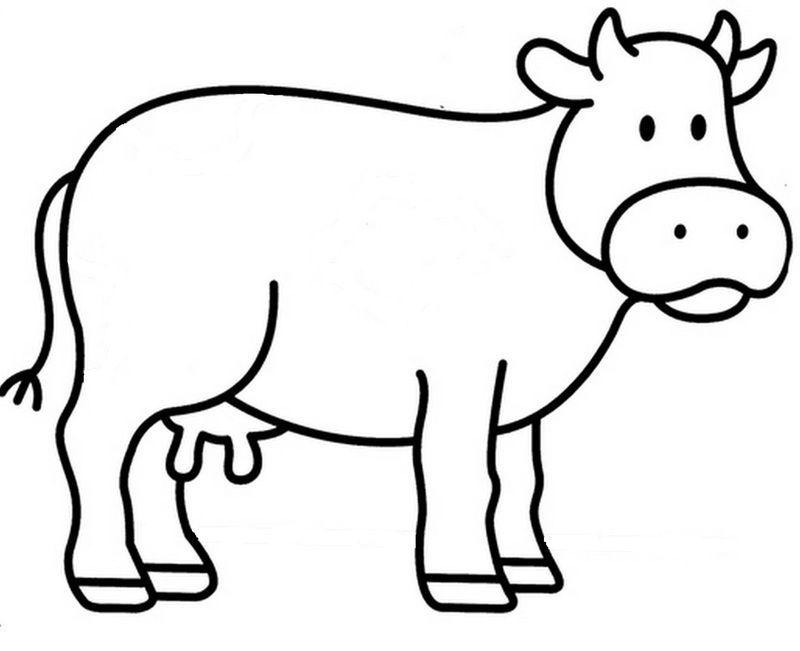 Monsieur et madame vaches - Dessin vache facile ...