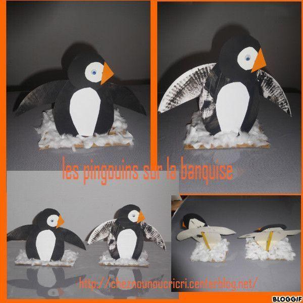 les pingouins sur la banquise. Black Bedroom Furniture Sets. Home Design Ideas