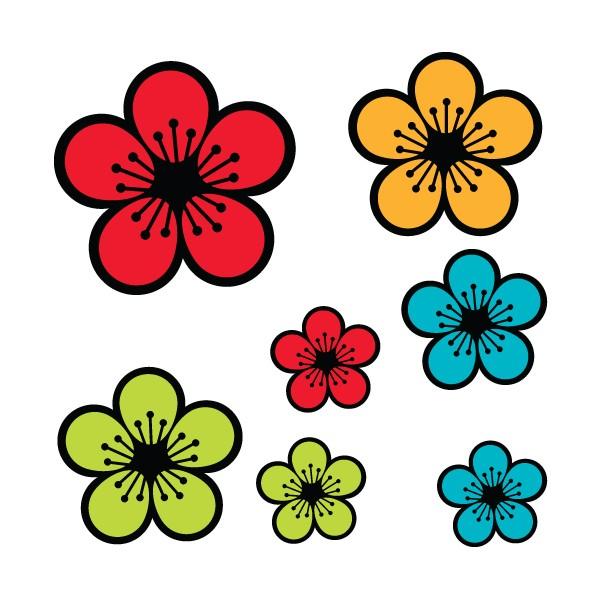 Fleurs A Decouper